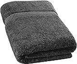 Utopia Towels - Serviette de Bain, Drap de Bain (90 x 180 cm, Gris)