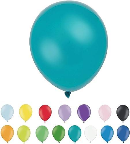 INERRA Ballons - Paquet de 300 (Couleur Options) Latex 10   - Turquoise