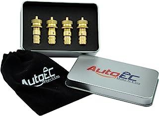 AutoEC Tire Deflator Kit Universal Adjustable Pack of 4