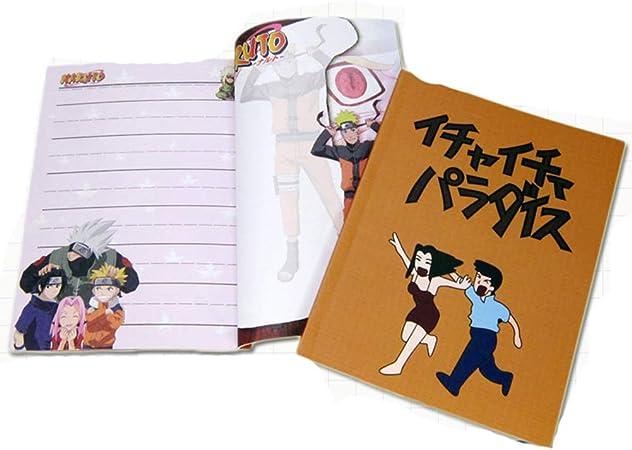 Touirch Anime Hatake Kakashi Naruto Notebook Cosplay Pamphlet
