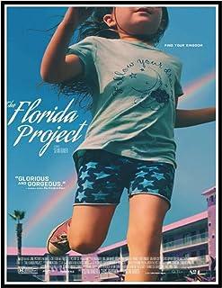 IYUFIL フロリダプロジェクト映画絵画ポスター部屋の装飾キャンバスプリント壁の装飾写真プリントキャンバス-20X28インチフレームなし1個