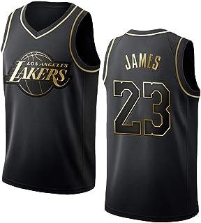 HEBZ Hombres Camiseta de Baloncesto 23# los Lakers de Los