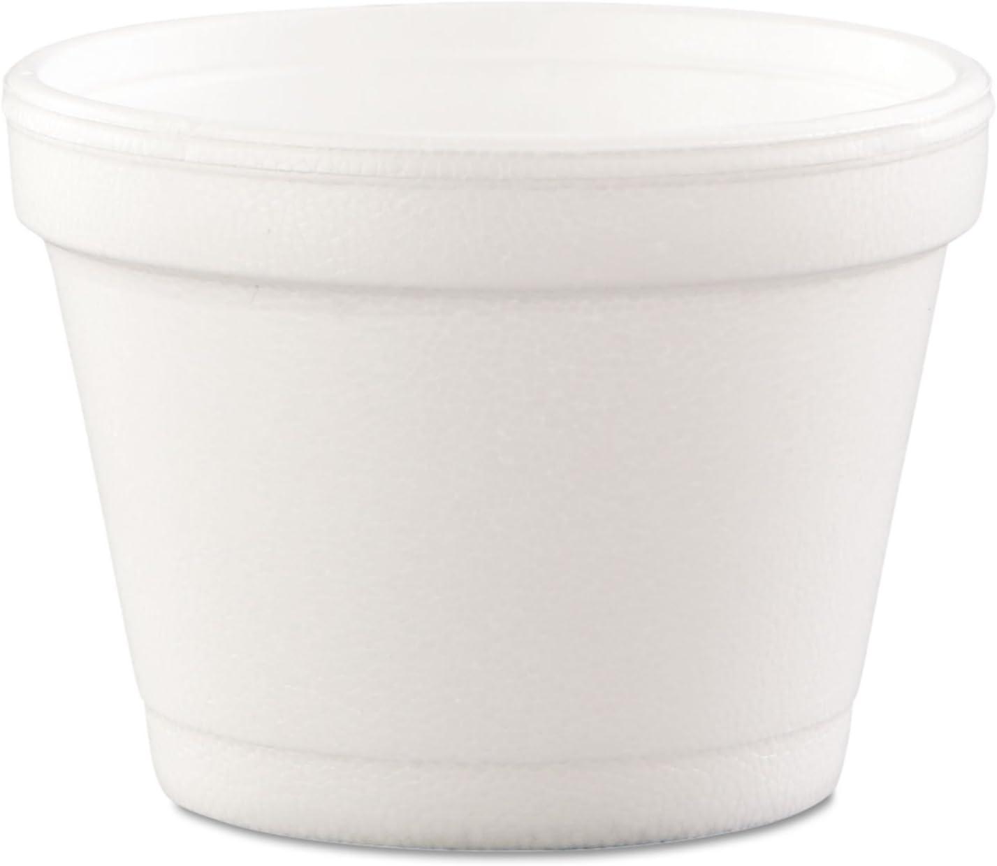 DART 4J6 Bowl Containers Foam Atlanta Mall 4oz Outlet SALE White Carton 1000