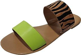 Comfortabele platte strandsandalen, slingback, peeptoe, slip-on, pantoffels, zomer, outdoor, sandalen, vrijetijdsschoenen