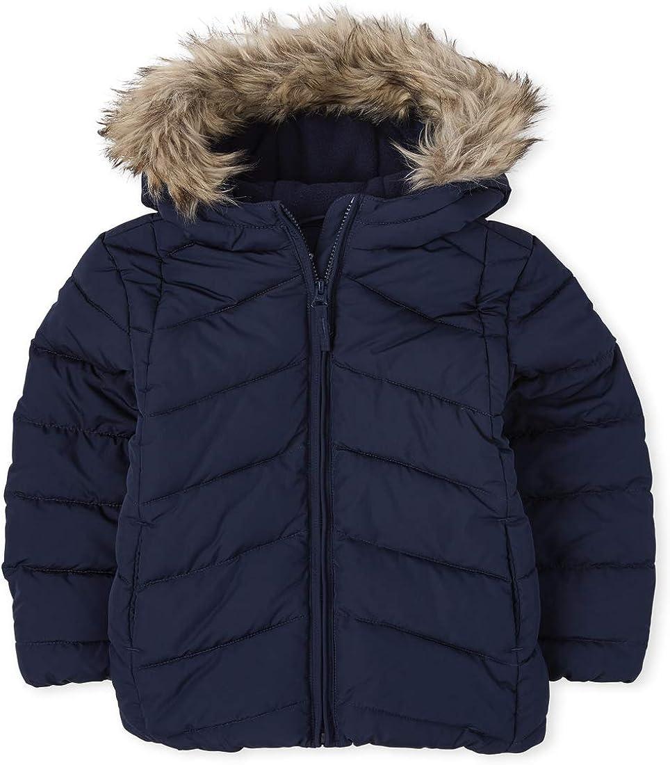 The Children's Place Girls' Short Puffer Jacket