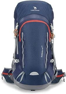 CAMEL CROWN 45L Hiking Backpack Large Lightweight Backpacks Internal Frame Hike Backpacking