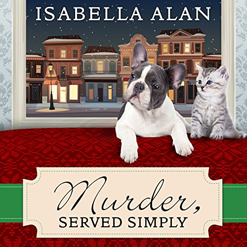Murder, Served Simply audiobook cover art