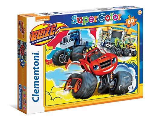 Clementoni - Puzzle 60 Piezas Blaze and The Monster (26962)