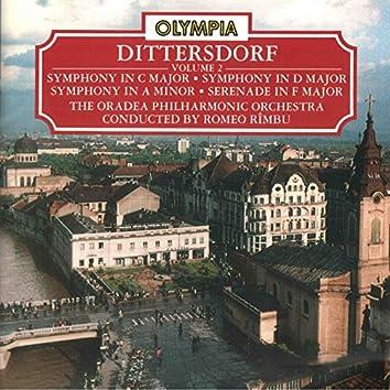 Dittersdorf: Symphony in C Major, D Major, A Minor & Serenade in F Major