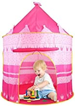 Zemic Hut Type Kids Toys Jumbo Size Play Tent House for Boys and Girls (Pink*)