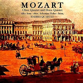 Mozart: Obeo Quartet & Horn Quintet