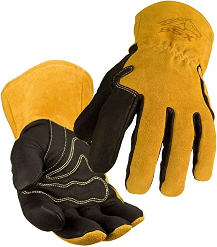 wholesale Revco Industries BM88L BSX BM88 Extreme Pig Skin MIG Welding online Gloves, high quality Large online