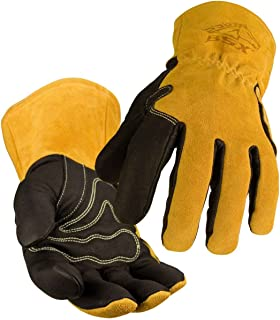 Revco Industries BM88L BSX BM88 Extreme Pig Skin MIG Welding Gloves, Large