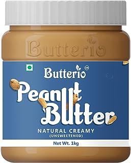 Butterio Natural Creamy Peanut Butter (1 Kg)