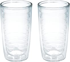 Tervis Clear & Colorful Insulated Tumbler, 16oz-2pk, Clear