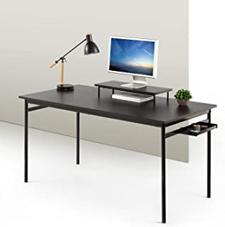 Zinus Tresa Computer Desk / Workstation in Espresso, Large