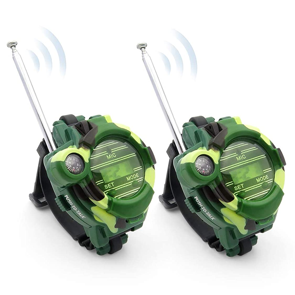 Kids Walkie Talkies, XHAIZ Long Range Walky-Talky Watch for Kids, Cool Outdoor Gifts For Boys and Girls mc19588817710483