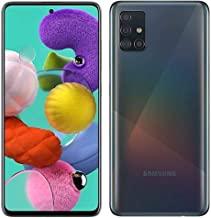Samsung Galaxy A51 128GB (6.5 inch) Display Quad Camera 48MP A515U Black Unlocked (Renewed)