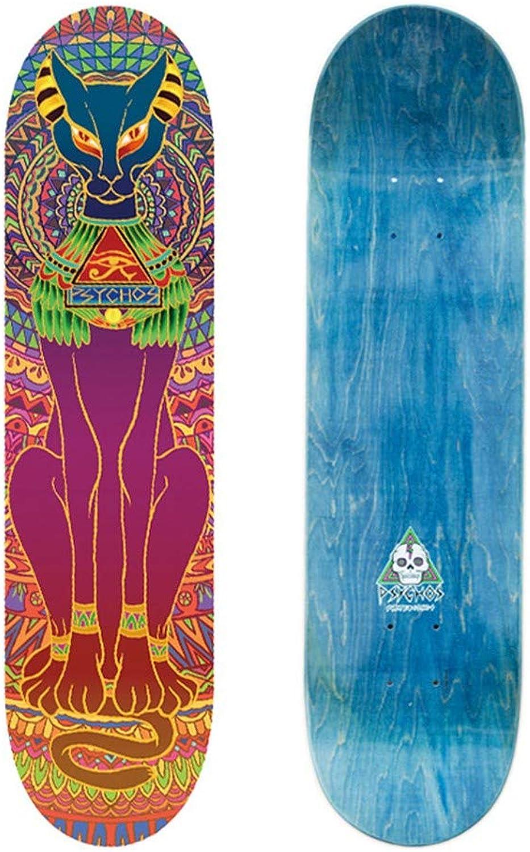FTYUC Skateboardgesichtskatzengott Skateboardgesichtskatzengott Skateboardgesichtskatzengott B07MH59VSK  Kostengünstig ce7668