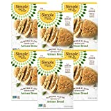 Simple Mills Almond Flour Baking Mix, Gluten Free Artisan Bread Mix, Made with whole foods, 6 Count (Packaging...