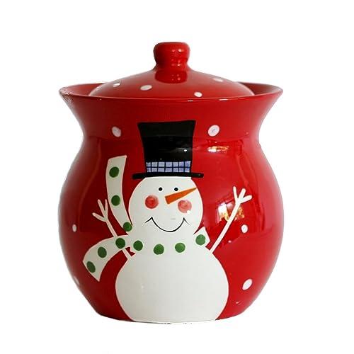 Ceramic Christmas Cookie Jars Amazon Com
