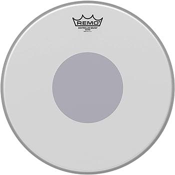 Parche para caja percusion Remo CS-0114-10 rugoso punto negro 14