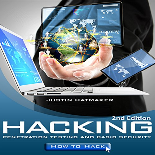 Hacking audiobook cover art