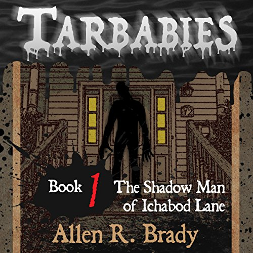 The Shadow Man of Ichabod Lane audiobook cover art