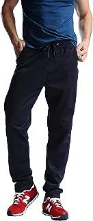 Zhi Fan Men's Big Size 4XL Design Sweat Delicacy Workout Full Black Length Pants