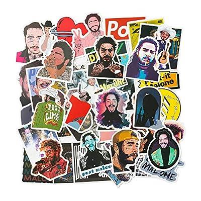 Amazon - 50% Off on 50Pcs Post Malone Singer Stickers Post Malone Theme Stickers Party Supplies