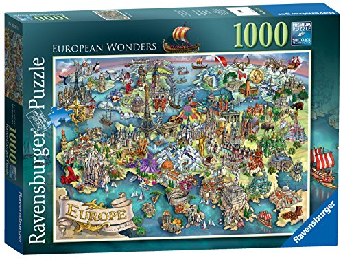 Ravensburger Puzzle Europa, 1000Teile