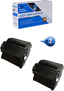 Inksters Compatible Toner Cartridge Replacement for HP 42A (Q5942A) Q3842 Black - Compatible with Laserjet 4240 4240N 4250 4250DTN 4250N (2 Pack)