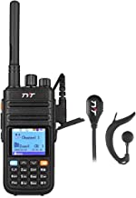 TYT Upgraded MD-380G DMR Digital Radio, with GPS Function VHF Two-Way Radio Walkie Talkie Compatible with Mototrbo with 2 Antenna and Programming Cable and Earpiece