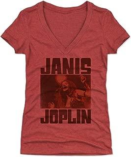 Janis Joplin Women's Shirt - Classic Rock Music Legends - Janis Joplin Sing