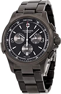 Victorinox Men's Night Vision Analog Display Swiss Quartz Watch