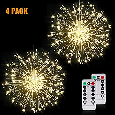 Fairy Firework String Lights Wire Lights,120 LE...