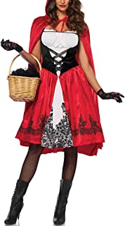 $21 » Alician Women Large Size Halloween Costume Little Red Riding Hood Oktoberfest Cool Costume red M Halloween Decoration