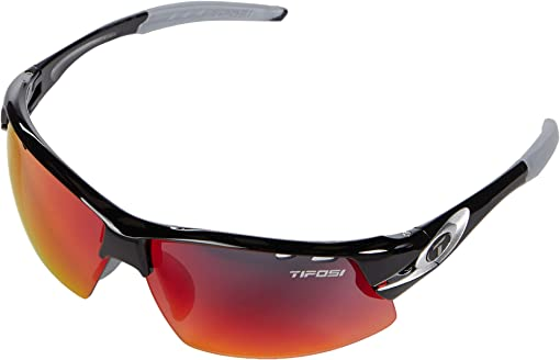 Race Silver Frame Clarion Red/AC Red/Clear Lenses