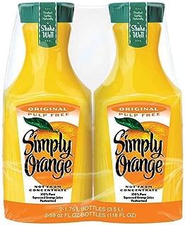 Simply Orange, Pulp Free (59 fl. oz. carafe, 2 pk.)