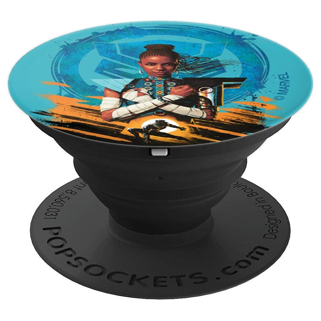 Marvel Black Panther Shuri Wakanda Forever - PopSockets Grip and Stand for Phones and Tablets
