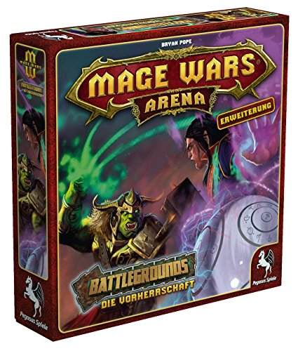 Pegasus Spiele 51872G - Mage Wars Arena Battlegrounds - Die Vorherrschaft