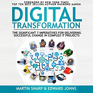 The Digital Transformation Book cover art