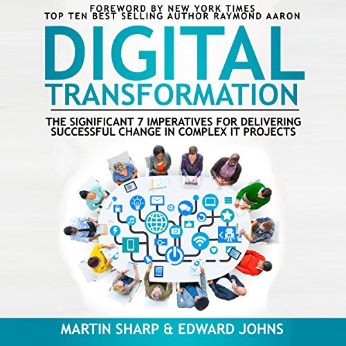 The Digital Transformation Book audiobook cover art