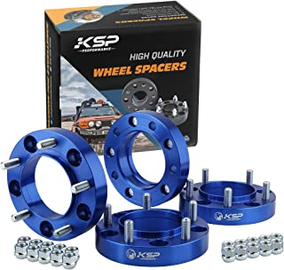 """KSP 5x150mm Hubcentric Wheel Spacers Fit for Toyota Lexus 5 Lug Wheels, 1.5""""with 14x1.5 Studs for 2007-2019 Tundra, 1998-2019 Land Cruiser,2008-2019 Sequoia,1998-2007 LX470,2008-2019 LX570,4Pcs"""