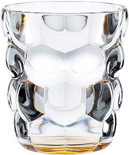 Spiegelau & Nachtmann, 2-teiliges Universalbecher-Set, Kristallglas, 315 ml, Bubbles, Orange, 100698