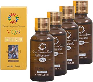 4pcs Ultra Brightening Spotless Oil 30mL, Remove Acne Scars Burn Stretch Marks Skin Care Oil Brightening Skin Essence Oil