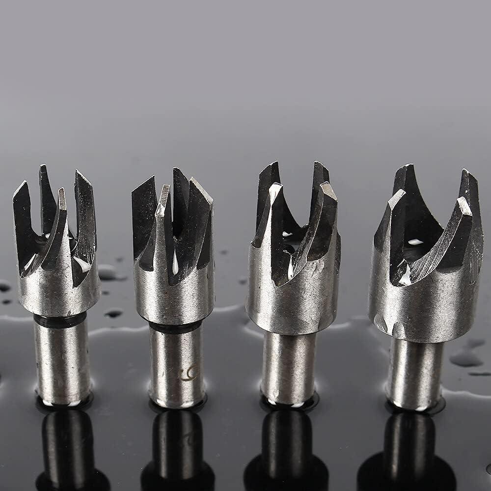 Drill Bits 4pcs New product Hole Max 72% OFF Tool Perforator Tools Power Furadeira