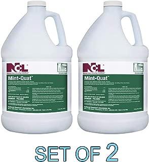 Mint-Quat Disinfectant Cleaner Mildewstat Fungicide Virucide Deodorizer 1 GAL [Set of 2]