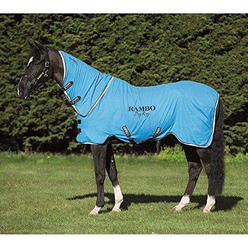 Horseware Rambo Dry Rug Supreme – Blue/Black/White, Groesse:M - 2