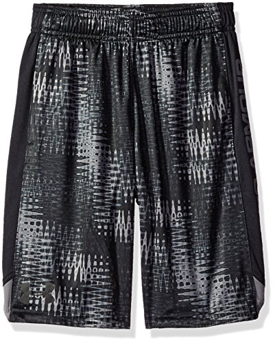 Under Armour Jungen Eliminator Printed Shorts Fitness-Hosen & Shorts, Graphit, YM